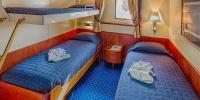 Sea Adventurer - Dreibettkabine mit Bullauge