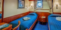 Sea Adventurer - Zweibettkabine mit Bullauge