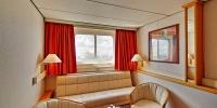 Wohnzimmer Suite Deck 4, OceanDiamond