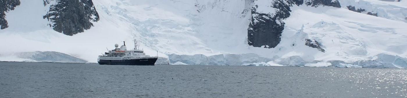 Bei Danco Island in der Antarktis