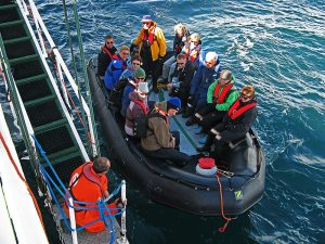 Spitzbergen Zodiacfahrt