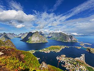 Norwegen und Spitzbergen