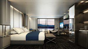 Deluxe Veranda Suite Schlafzimmer