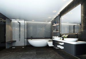 Grand Panorama Suite Badezimmer