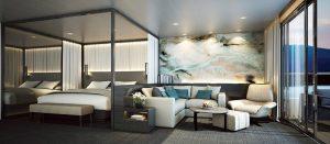 Spa Suite Schlafzimmer