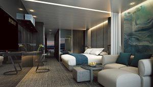 Veranda Suite Schlafzimmer