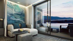 Veranda Suite Wohnzimmer