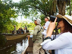 Amazonas Peru mit Aria Amazon