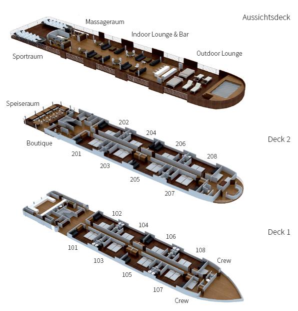 Aria Amazon Deckplan