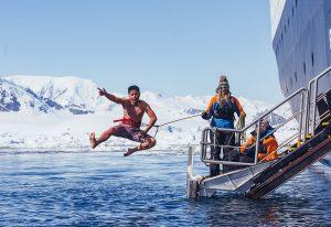 Sprung ins kalte Wasser