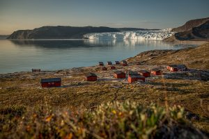 Lodges am Eqi Glacier