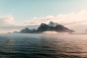 Morgennebel – Nuuk Fjord
