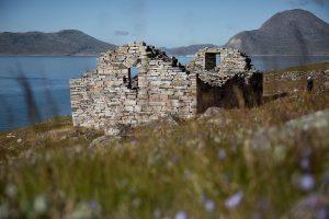 Ruine einer Hvalsey Kirche