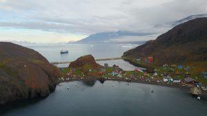 Ocean Atlantic im Fjord