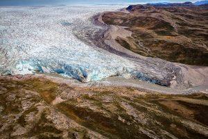 Gletscher bei Kangerlussuaq