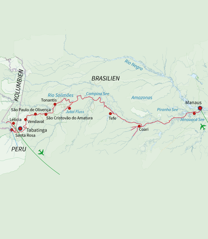 Die große Amazonas Expedition