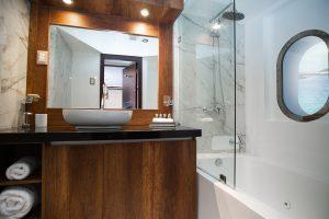 Kabinen Badezimmer