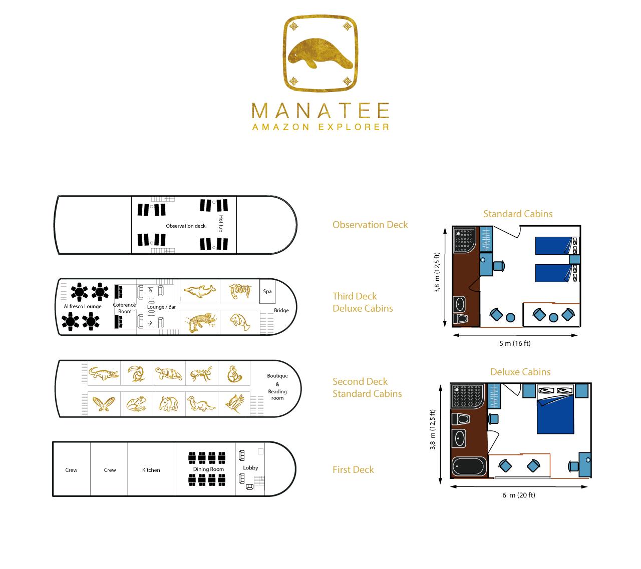 Manatee Deckplan