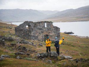 Wikinger-Ruine bei Hvalsey