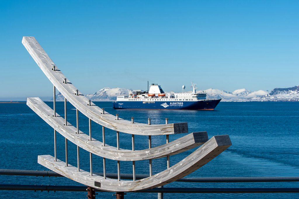 Ocean Atlantic vor Ny-Ålesund