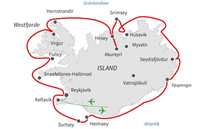 Island Umrundung