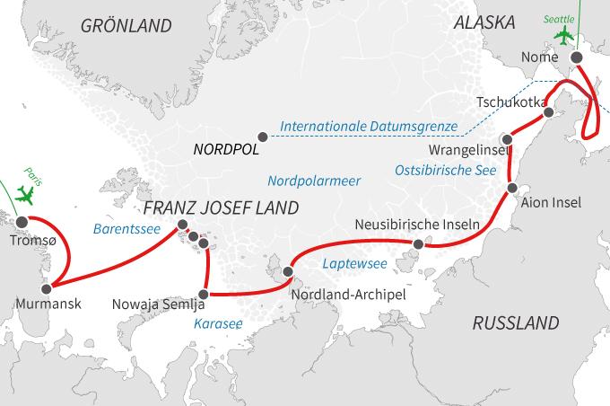 Die Nordostpassage