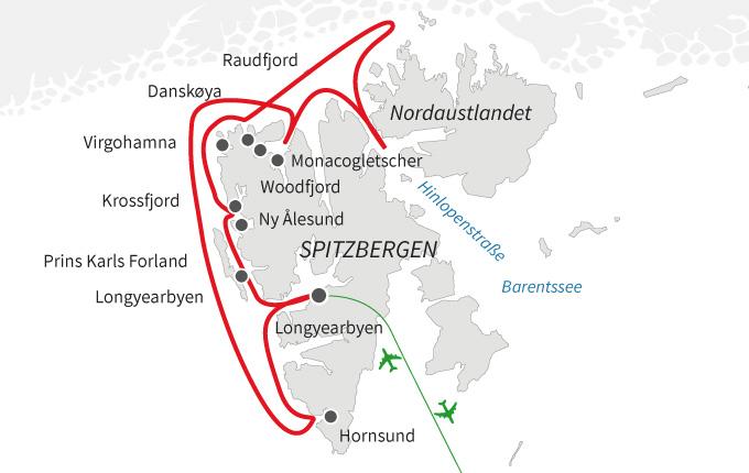 Nordspitzbergen Klassik