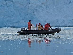 Spitzbergens Westküste