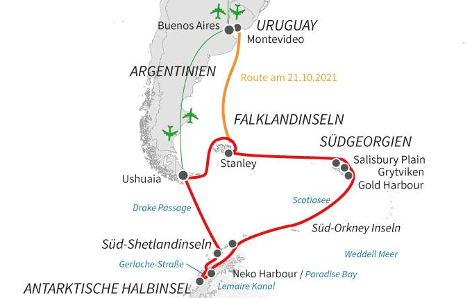 Auf den Spuren Shackletons