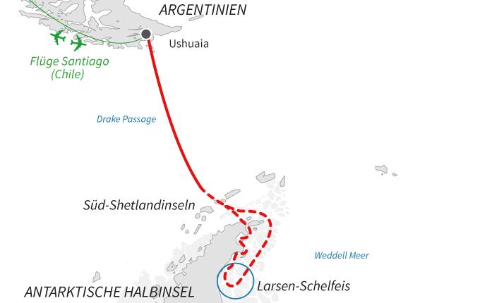 Expedition zum Larsen-Schelfeis