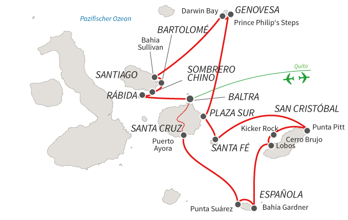 Reina Silvia Voyager Route A