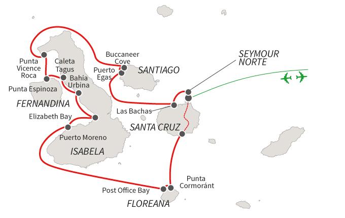 Reina Silvia Voyager Route B