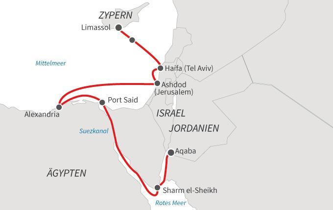 Heiliges Land, Ägypten & Rotes Meer