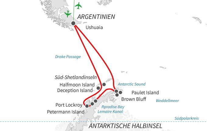 Antarktis – der weiße Kontinent