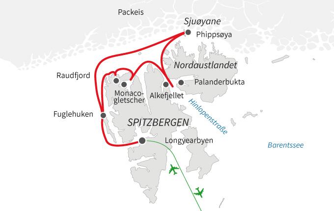 Nordspitzbergen – Auf der Suche nach Eisbären