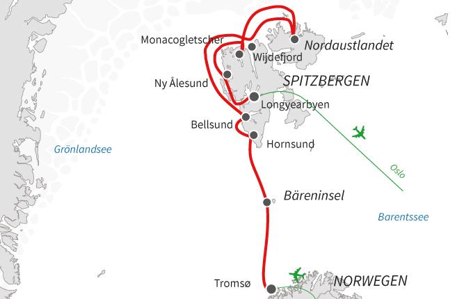 Spitzbergen und Bäreninsel