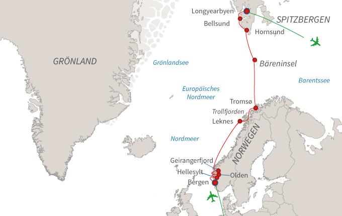 Fjorde & Spitzbergen