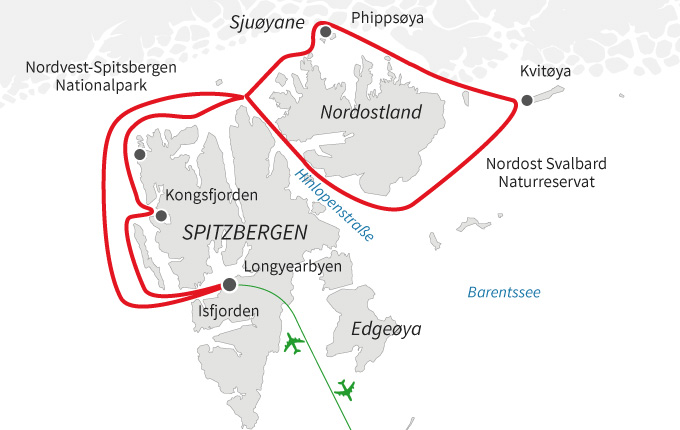 Polarexpedition im Nordostland